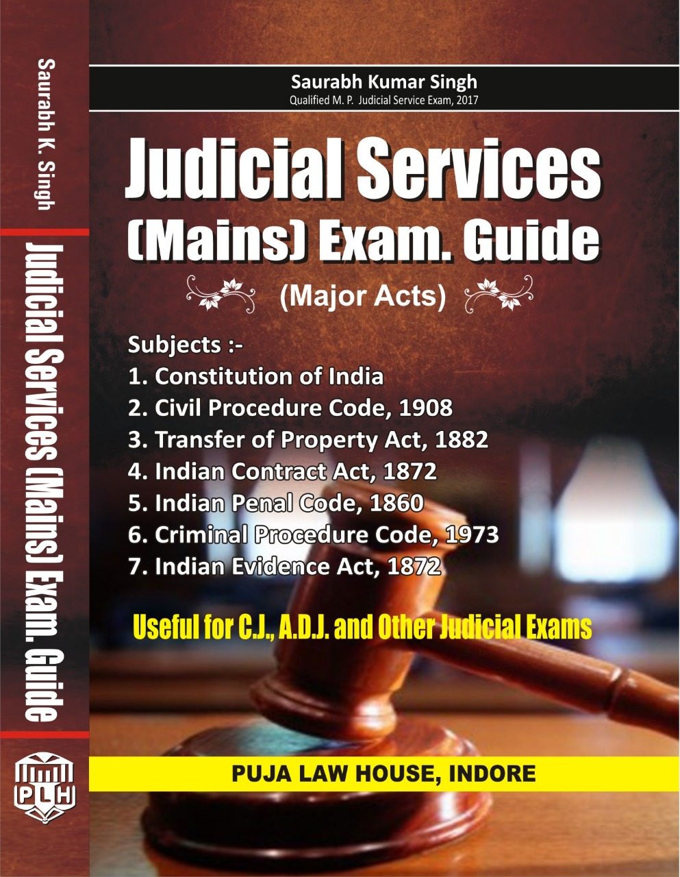 Judicial Services (Mains) Exam Guide (Major Acts)