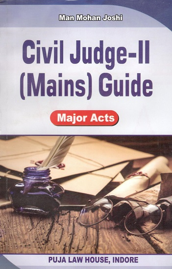 Civil Judge-II (Mains) Guide (Major Acts)