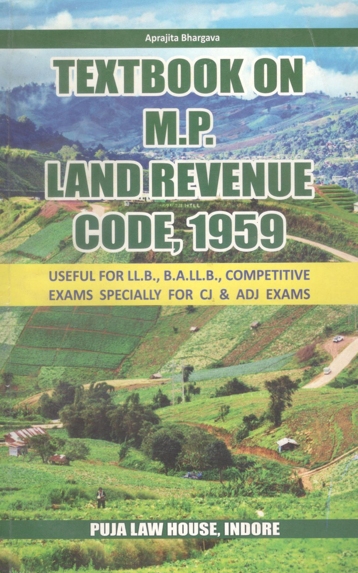 Textbook of M.P. Land Revenue Code, 1959