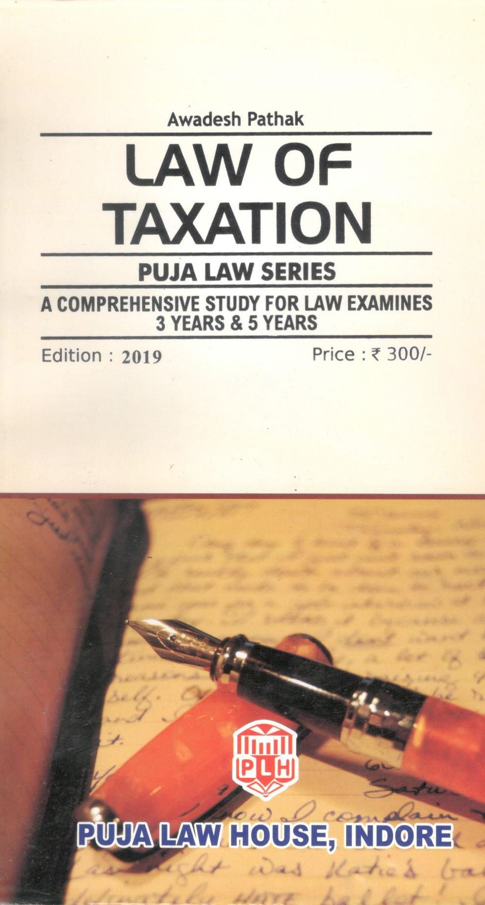 PLS – Law of Taxation